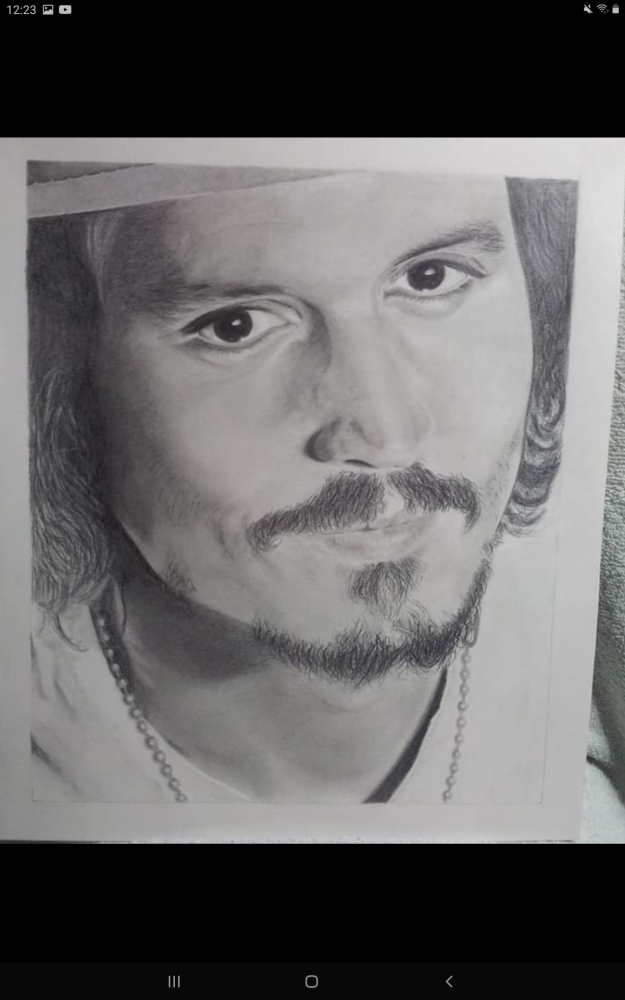 Johnny Depp par Debijw
